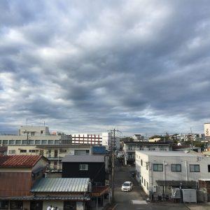 二日目の朝の天気。この天気どうなるか